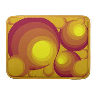 "Retro Circles Macbook Pro 13"" Sleeve Sleeves For MacBook Pro"