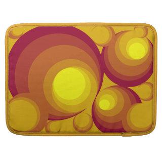 "Retro Circles Macbook Pro 15"" Sleeve"