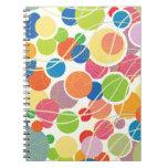 Retro Circles Notebook