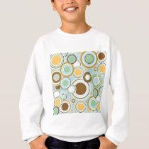 Retro Circles Pattern Sweatshirt