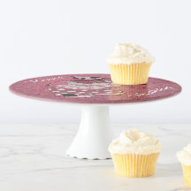 Happy Birthday Cake Stands