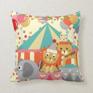 Retro Circus  MOJO Pillow