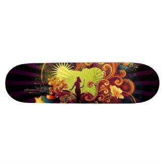 Retro Circus skateboard