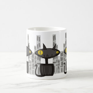Retro City Life of the Alley Cat Coffee Mug