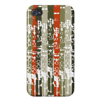 Retro Clarinet iPhone 4 Case