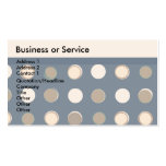 Retro Classic Cheap Double-Sided Standard Business Cards (Pack Of 100)