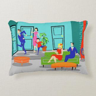 Retro Classic Television Accent Pillow