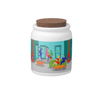 Retro Classic Television Candy Jar