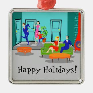 Retro Classic Television Christmas Ornament