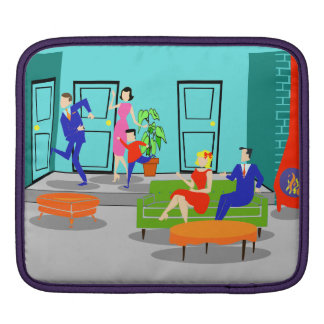 Retro Classic Television iPad Sleeve