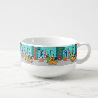 Retro Classic Television Soup Mug