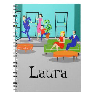 Retro Classic Television Spiral Notebook