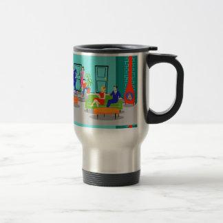 Retro Classic Television Travel Mug