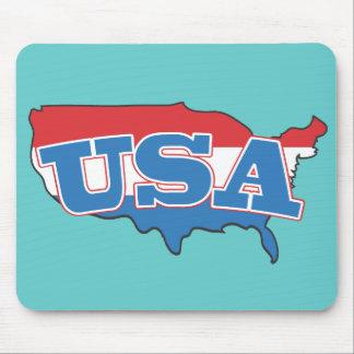 Retro Classic USA Mouse Pad