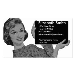 Retro Clipboard Business Card