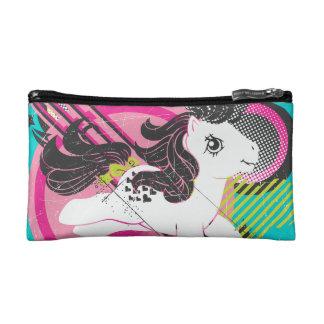 Retro Cloud Design Cosmetic Bag