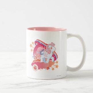 Retro Clouds  Design Coffee Mug