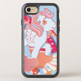 Retro Clouds  Design OtterBox Symmetry iPhone 8/7 Case