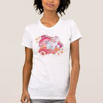 Retro Clouds  Design T-Shirt