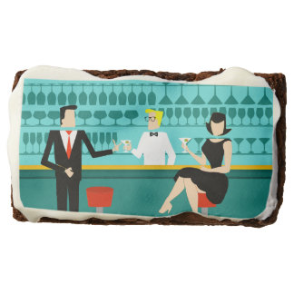 Retro Cocktail Lounge Brownies
