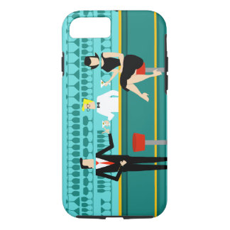 Retro Cocktail Lounge iPhone 7 Case