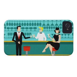Retro Cocktail Lounge iPhone Case