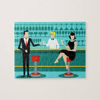 Retro Cocktail Lounge Puzzle