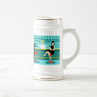 Retro Cocktail Lounge Stein