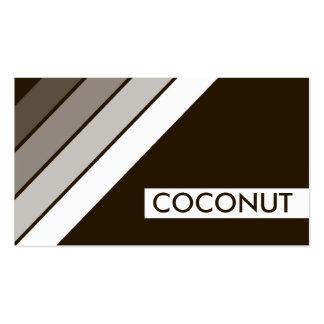 retro COCONUT Business Card