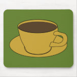 Retro Coffee Cup mousepad