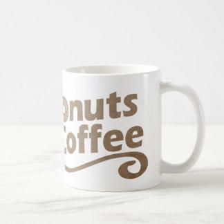 Retro Coffee & Donuts Coffee Mug