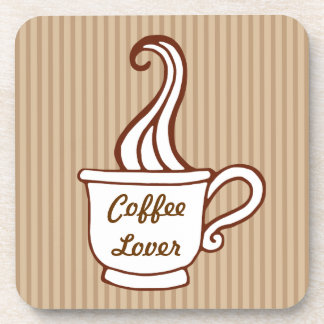 Retro Coffee Lover Coasters