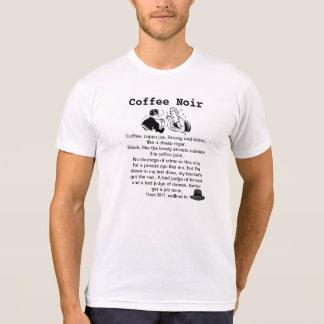 Retro Coffee Noir T-shirt