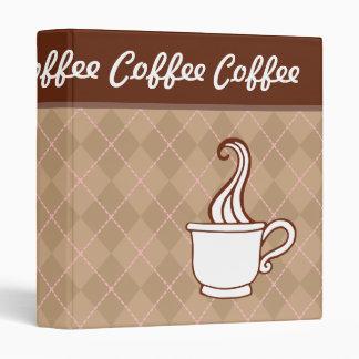 Retro Coffee Recipe Binder