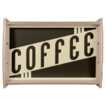 retro coffee serving platters