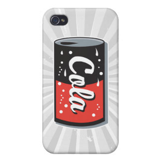 retro cola can design iPhone 4 cover