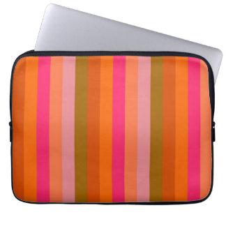 Retro Color Stripe Pattern 9 Computer Sleeve
