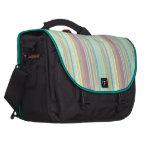 Retro Color Stripes Laptop Bag