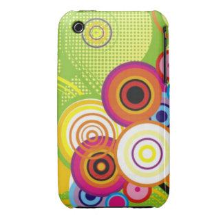 Retro Color Swirl iPhone Case iPhone 3 Cases