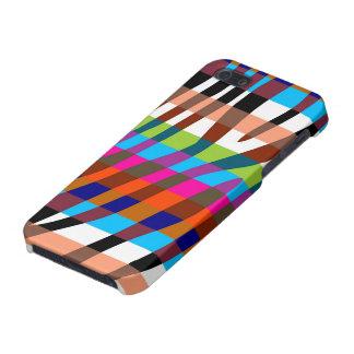 Retro Color Zebra Stripe Pattern 11 Cover For iPhone SE/5/5s