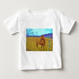 Retro Colored Horse T Shirt