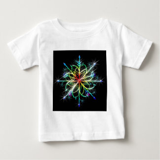 Retro Colored Star Baby T-Shirt