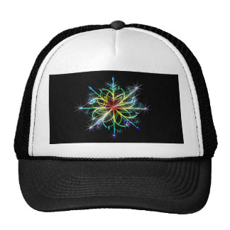 Retro Colored Star Trucker Hat