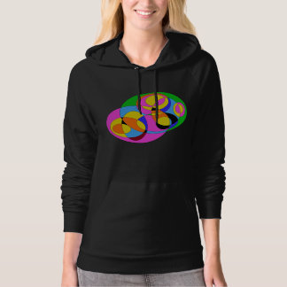 Retro Colorful Abstract Hoodie