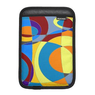 Retro Colorful Abstract iPad Mini Sleeve