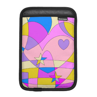 Retro Colorful Abstract Sleeve For iPad Mini