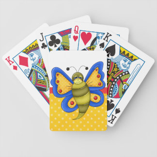 Retro Colorful Butterfly Card Decks