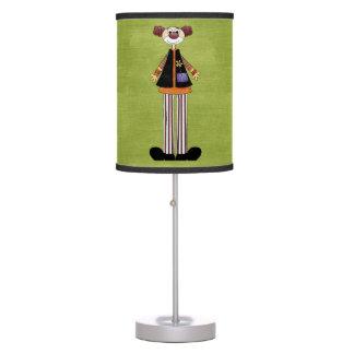 Retro Colorful Circus Clown Desk Lamp
