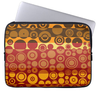 Retro Colorful Fifties Abstract Art 2 Computer Sleeve