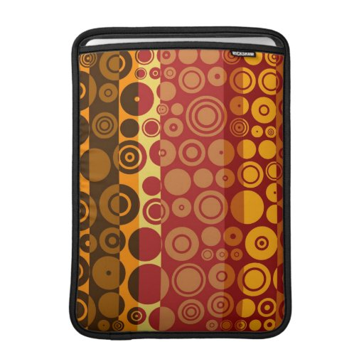 Retro Colorful Fifties Abstract Art 2 MacBook Air Sleeve